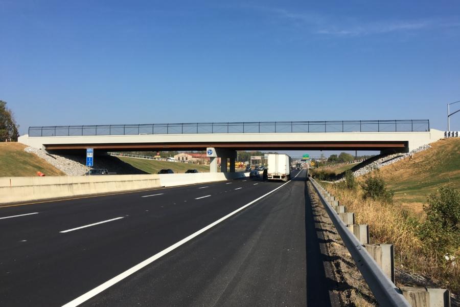 Shepherd  Road Bridge over SR 153 in Chattanooga